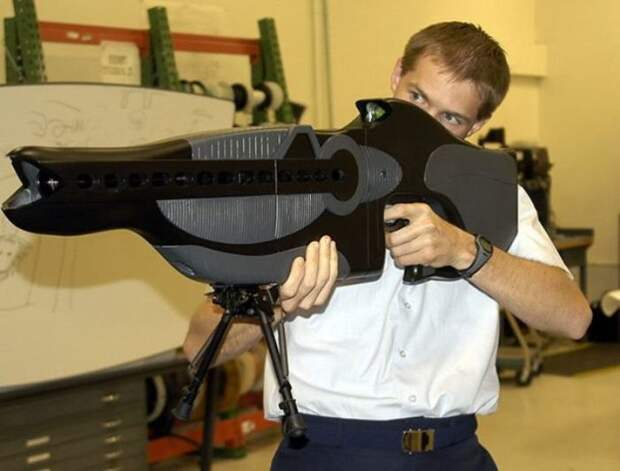 Та самая винтовка.