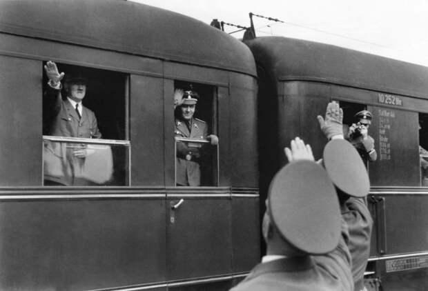 Поезд Гитлера для дальних поездок. /Фото: museumsyndicate.com.