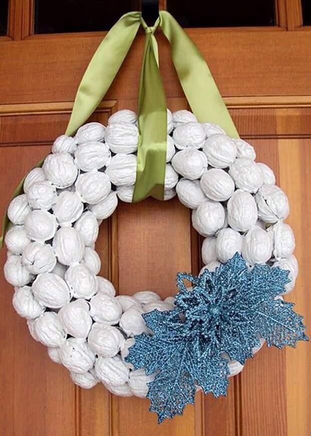Щёлкаем орешки: скорлупа грецкого ореха как материал для вашего творчества, фото № 19