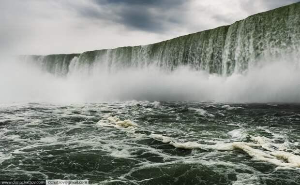 Niagaraoutside10 Ниагарский водопад. Вид изнутри