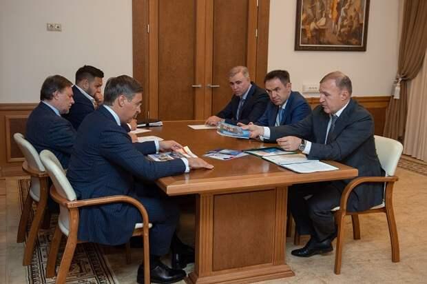 Перспективы развития высшего образования в Адыгее обсудили Мурат Кумпилов и Валерий Фальков