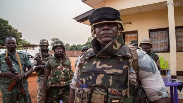 Вооруженные силы ЦАР зачистили город Кабо на севере страны