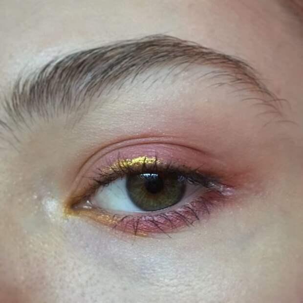 Необычные стрелки на глазах (подборка)