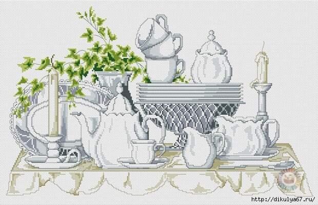 ВЫШИВАЙКА. Чайный сервиз