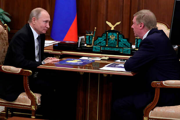 Чубайс попросил Путина отпустить его на пенсию