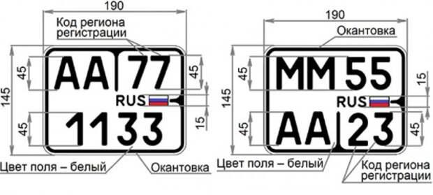 В России меняют автомобильные знаки