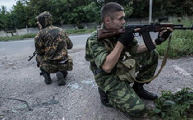 Бойцы ополчения © РИА Новости,Андрей Стенин