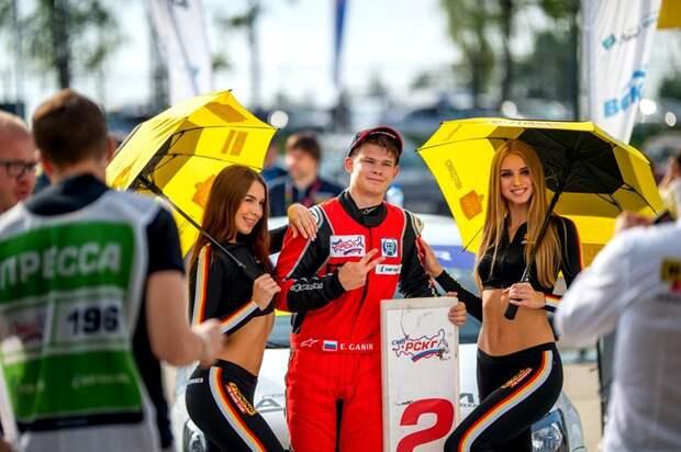 Пилоты B-Tuning Pro Racing Team Андрей Севастьянов и Егор Ганин - снова на подиуме