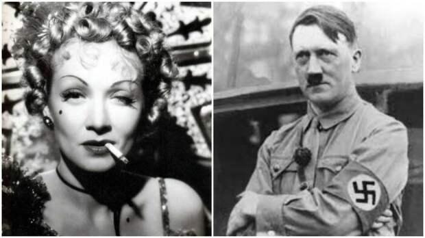 Надуманный план Марлен Дитрих убить Гитлера. \ Фото: lavanguardia.com.
