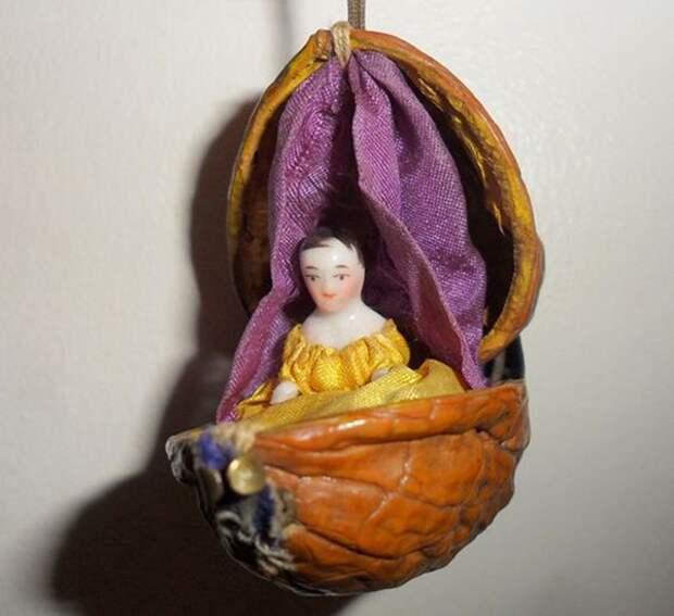 Щёлкаем орешки: скорлупа грецкого ореха как материал для вашего творчества, фото № 5