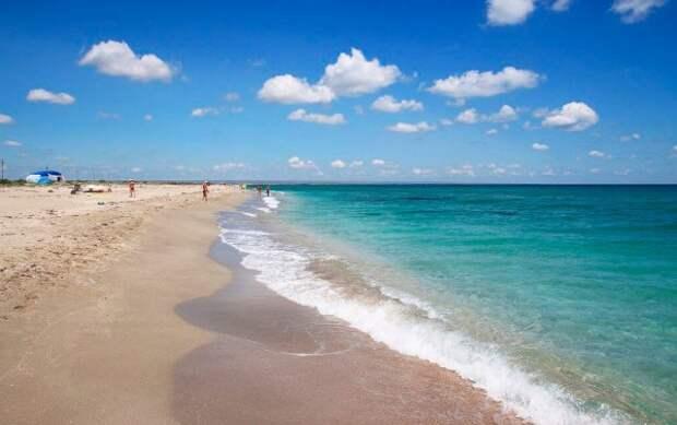 Какие крымские пляжи считаются  восхитительными?