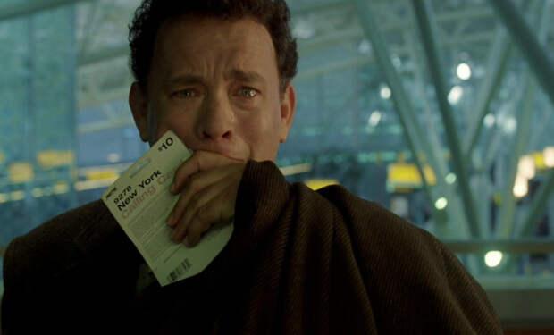 Кадр из фильма «Терминал» для иллюстрации, фото из открытых источников