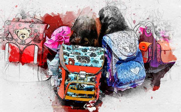 Орловские родители в шоке от тяжести школьных рюкзаков