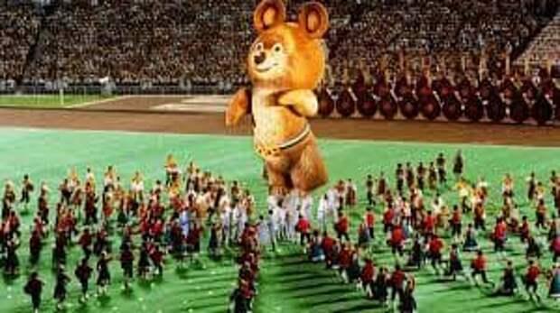 Горящие голуби, проклятый Мишка и другие ЧП во время Олимпийских игр