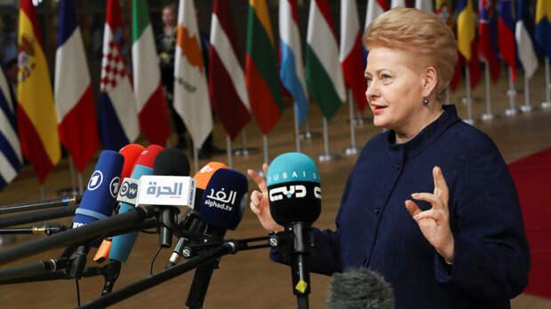 Россия, бойся! Литва вводит против нас санкции