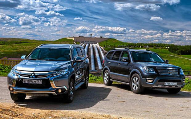 Mitsubishi Pajero Sport и Kia Mohave – сравнительный тест настоящих внедорожников
