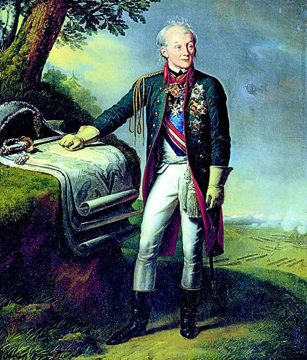 К. Штейбен. «Портрет А.В. Суворова». 1815 г.
