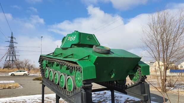 Где в Волгограде можно увидеть единственный танк Т-70, который принимал участие в Сталинградской битве