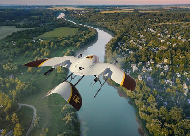 UPS обзаведется дронами-конвертопланами