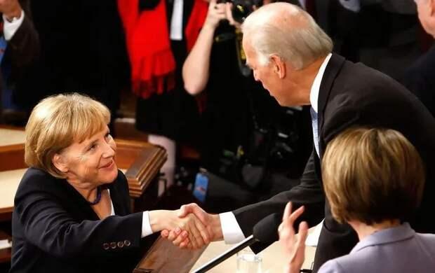 Меркель и Байден заключили секретное антироссийское соглашение