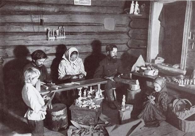 Русские народные промыслы. Богородская игрушка