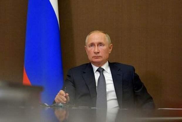 Президент России Владимир Путин в Сочи, Россия, 28 сентября 2020 года. Sputnik/Alexei Druzhinin/Kremlin via REUTERS