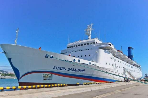 Судно «Князь Владимир»  выполняет последний рейс из Крыма в Сочи