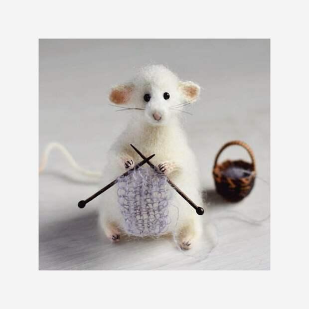 Счастливое вязание: очаровательные игрушки Ольги Мареевой