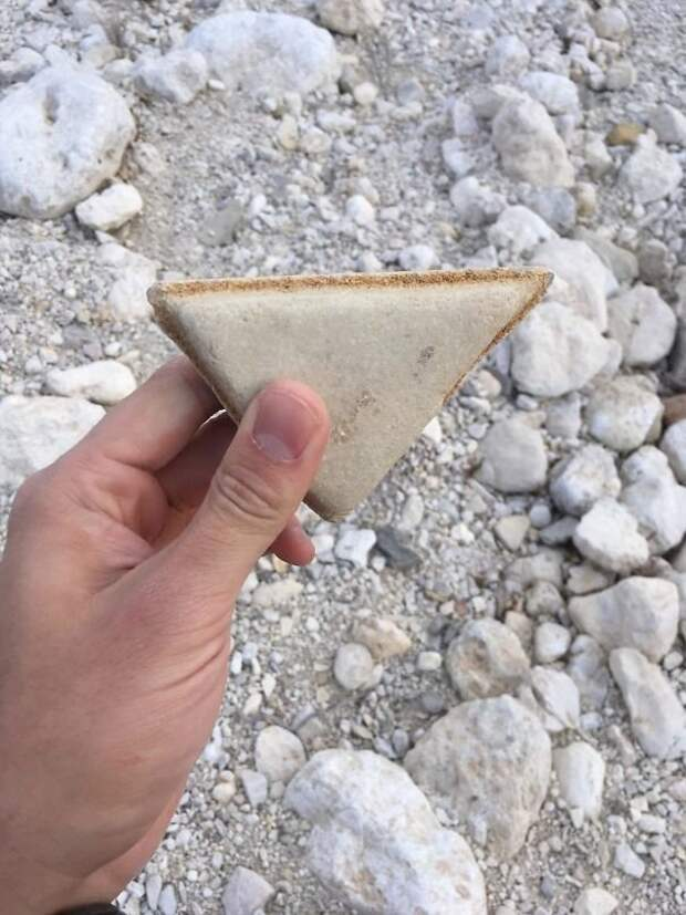 Камень - сэндвич интересно, не еда, несъедобное, поразительно, странные сближенья, съедобное, удивительно, удивительное рядом