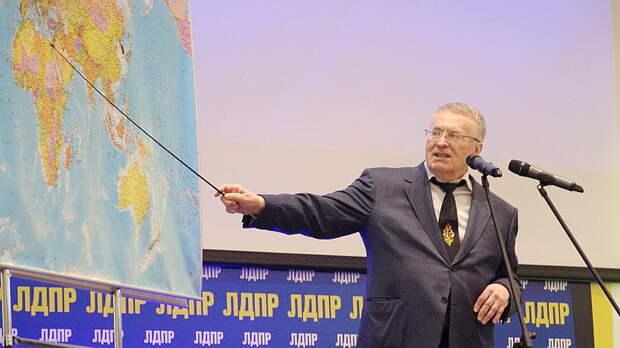 Жириновский собирает митинг в поддержку Каталонии