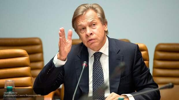 Пушков жестко раскритиковал Зеленского после блокировки телеканалов