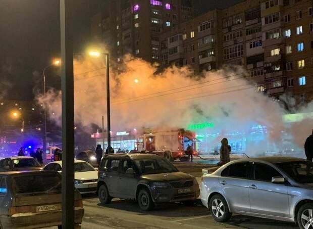 Водитель загоревшегося автобуса в Ижевске рассказал о возможной причине происшествия