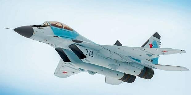 """МиГ-35 """"712 синий"""""""