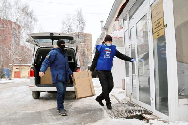 Год волонтерским центрам «Единой России»: итоги и достижения