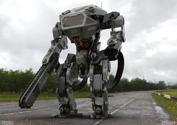 Футуролог Кузнецов назвал роботов главной силой войн будущего