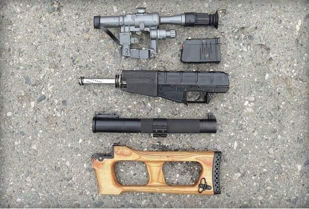 Винтовка снайперская специальная «Винторез»: история создания известного оружия
