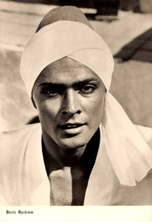 Как менялся советский Аладдин, актер Борис Быстров, с течением времени.