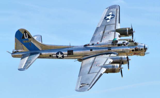 Boeing B-17 Flying Fortress.   Фото: Wikipedia.