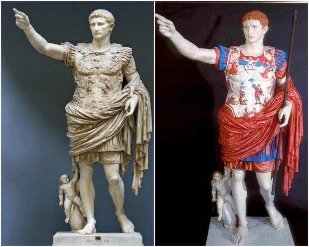 kak vyglyadeli drevnegrecheskie statui 7