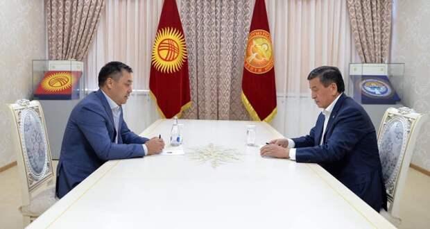 Президент Киргизии Жээнбеков подал в отставку