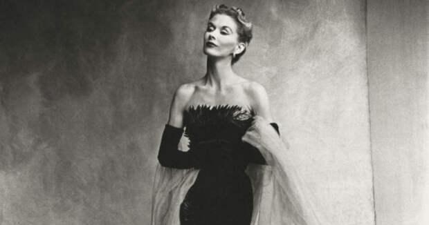 8 ретро-фото первой супермодели Лизы Фонсагривс
