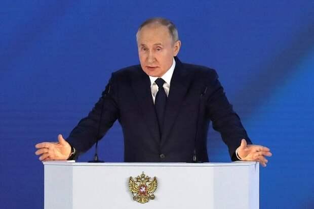 «Вокруг Шерхана крутятся мелкие Табаки» - Путин о давлении Запада на РФ