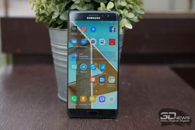 Samsung прекратила сотрудничество с поставщиком бракованных батарей для Galaxy Note 7