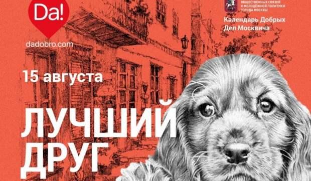 В столице пройдет акция «ДаДобро» – «Лучший друг»