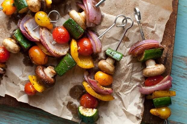 7 рецептов вкусного вегетарианского шашлыка