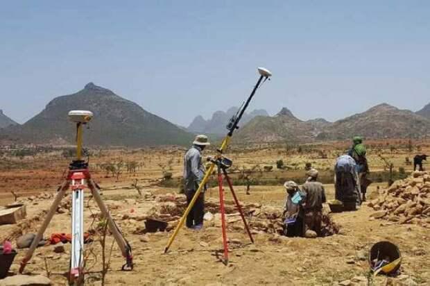 Раскопки проводились археологами на севере Эфиопии близ города Бета Самати.