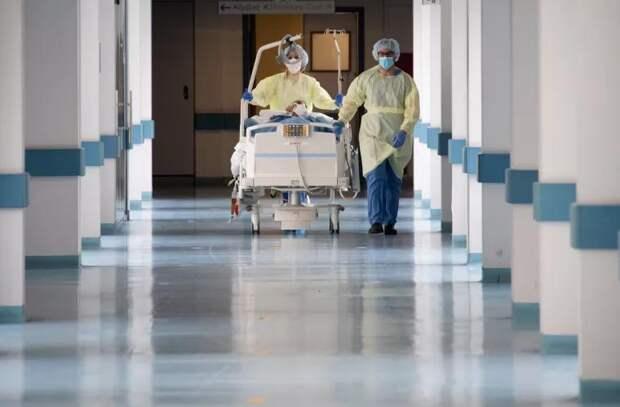 В столичных больницах сокращается число COVID-отделений