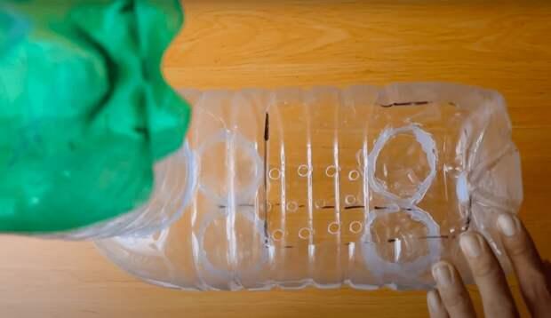 Креативная идея переработки пластиковых бутылок
