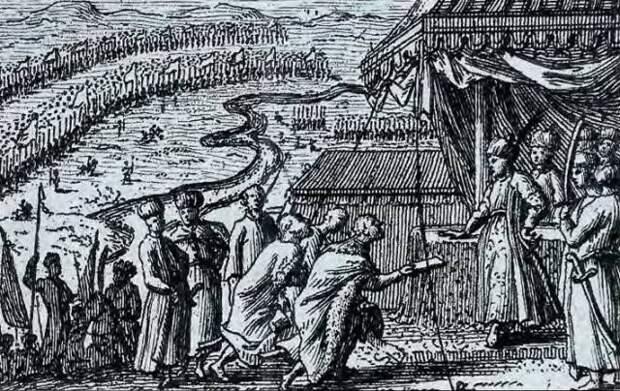 Прутская катастрофа Петра I