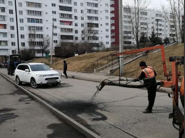 Объездную дорогу капитально отремонтируют в Солнечном в Иркутске в 2021 году